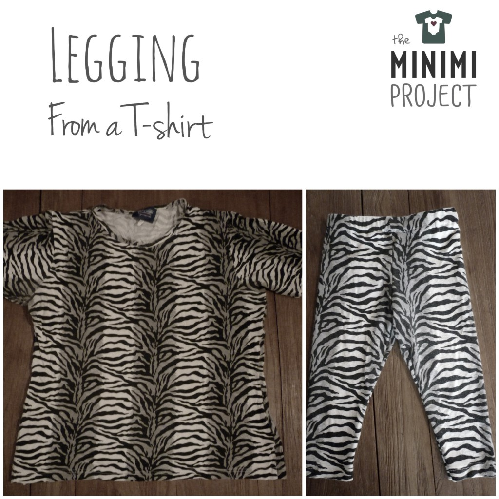 legging from a t-shirt