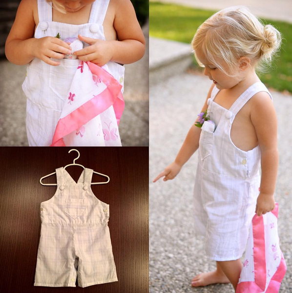 Dungarees PDF pattern for babies and toddlers