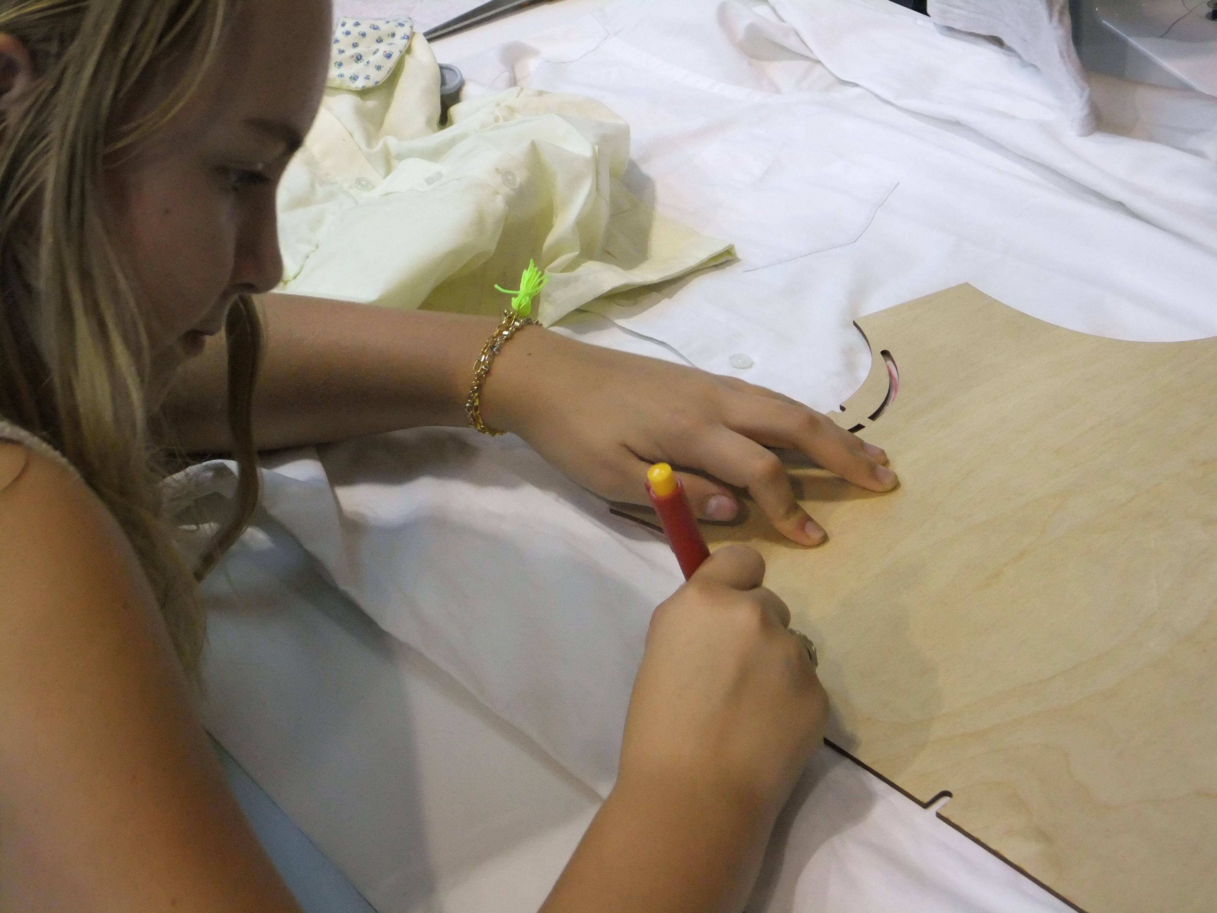 Wooden Minimi molds