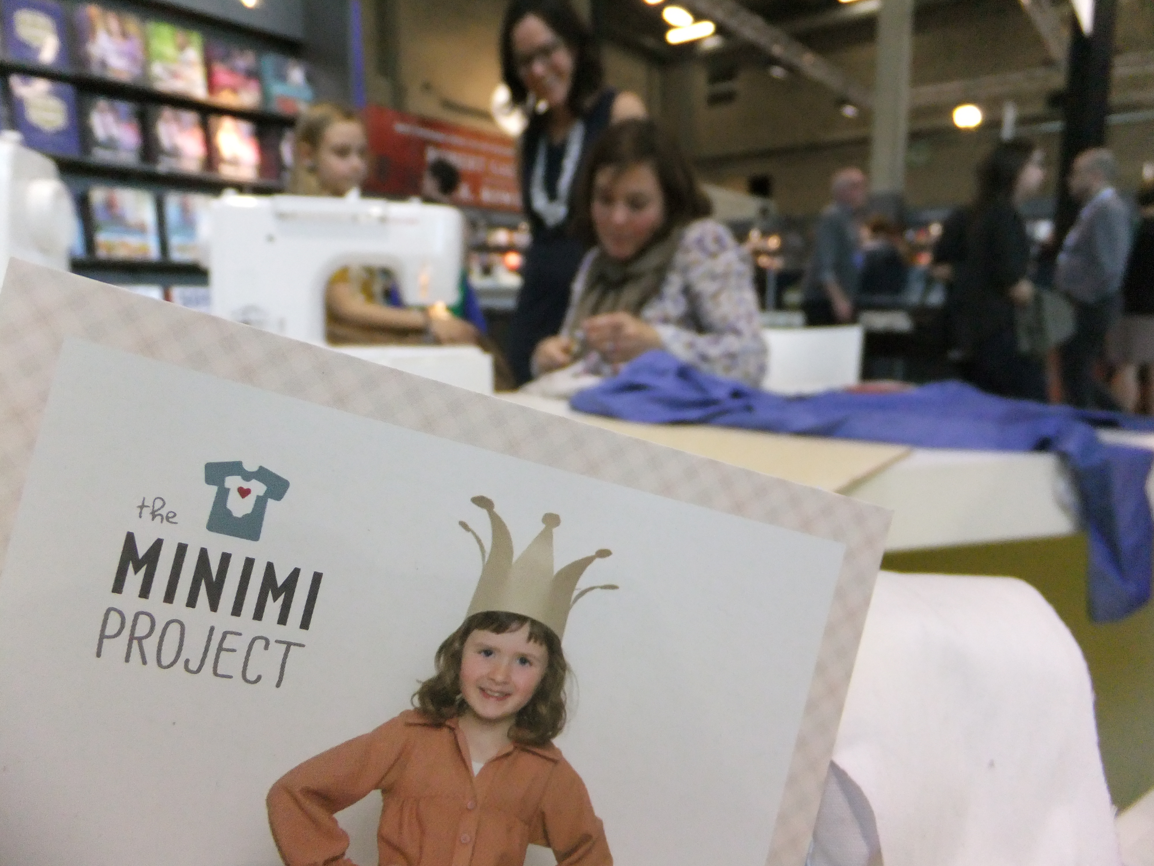 The Minimi Project sewing book and workshop