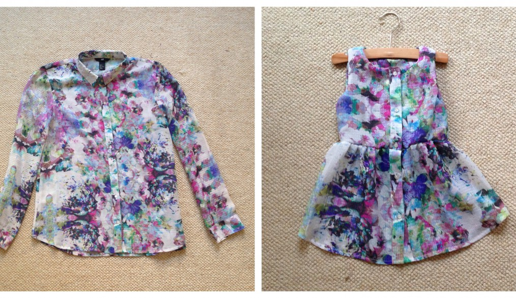 tutorial of blouse sew into baby dress
