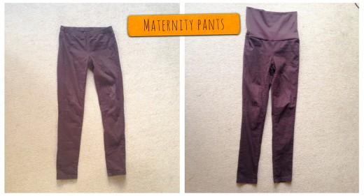 pants become maternity pants