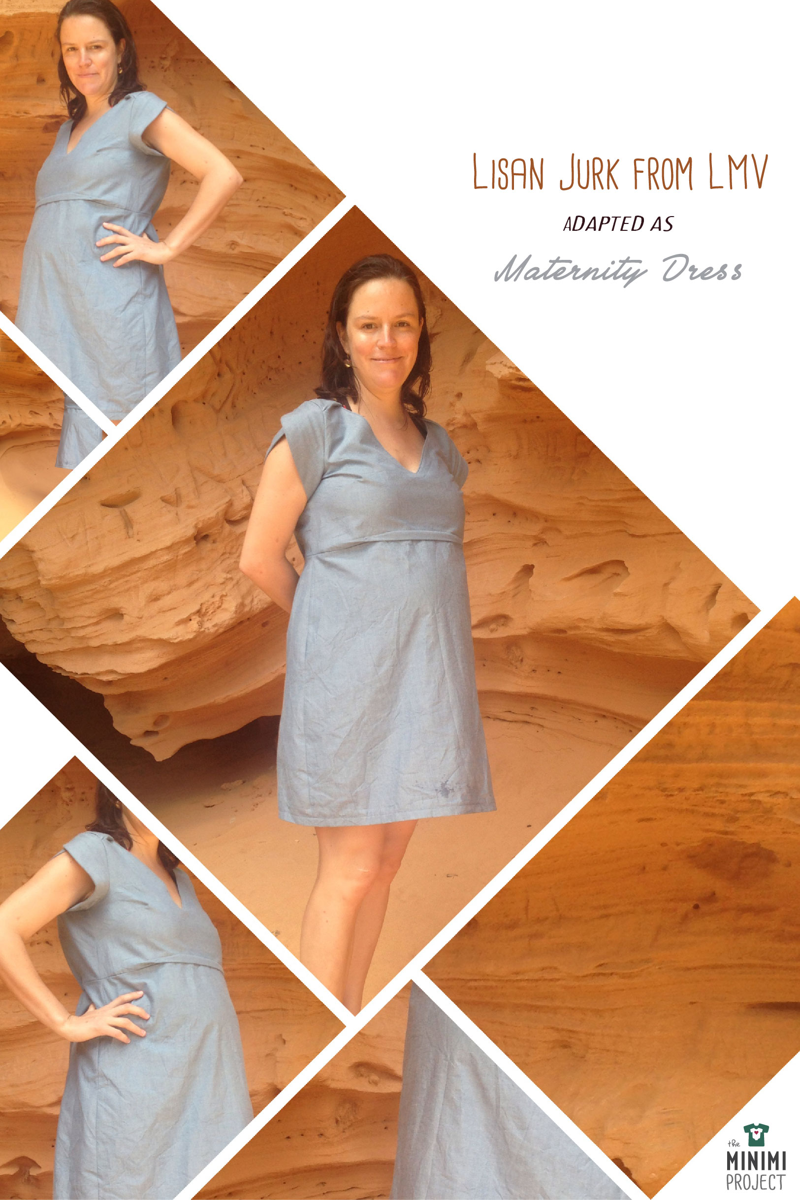 Lisan Jurk Maternity Dress