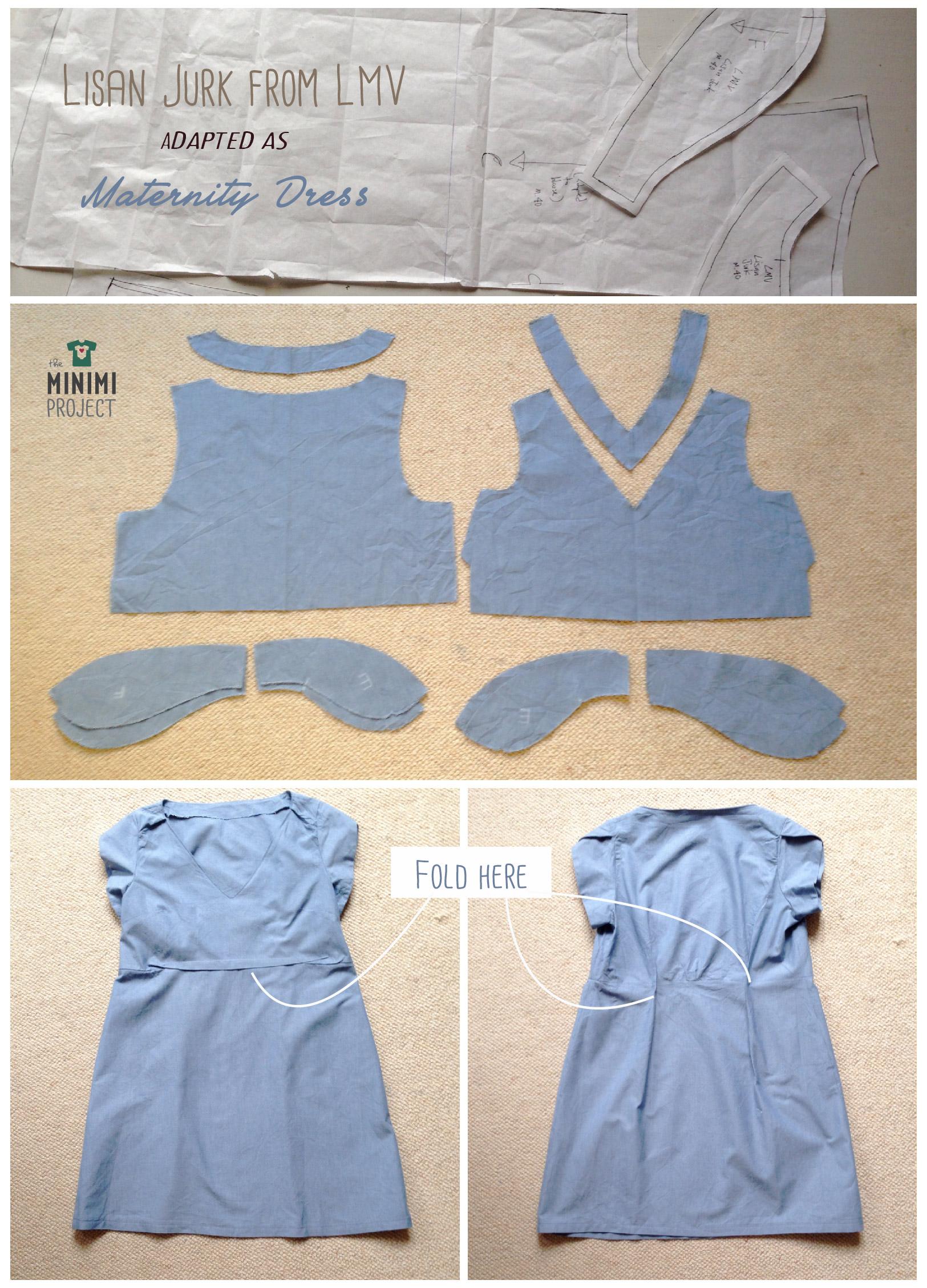 Maternity Dress instructions